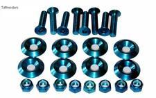 Conjunto De Perno De Aleación Anodizado disponible en Negro o Azul (Paquete de 8) valor increíble.
