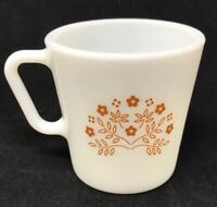 Pyrex Mug Ginger Summer Impressions Flower D Handle Coffee Cup