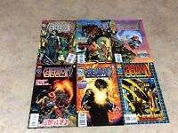 GENERATION X  #7,8,9,10,11,12 LOT OF 6 COMIC  NM 1995-1996 MARVEL