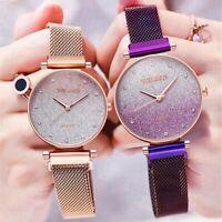 Fashion Starry Sky Watch Magnet Band Women Quartz Diamond Wristwatch Watches NEW