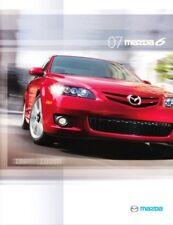 2007 07 Mazda 6 Series  original sales brochure MINT