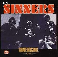 LES SINNERS - SINERISME - CD CANADA-FRENCH 60s GARAGE Bonus Songs rare oop L@@K
