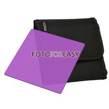 "FOTGA 4 X4"" Square Purple Color filter for Matte box Cokin Z Hitech Lee holder"