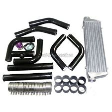 TURBO INTERCOOLER+PIPING KIT+BOV FOR CIVIC/DEL SOL/CRX/FIT