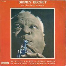 EP JAZZ--SIDNEY BECHET & SON ORCHESTRE--BREATHLESS BLUES