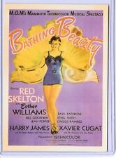 VINTAGE REPRO MOVIE POSTER BATHING BEAUTY REPRODUCTION POSTCARD