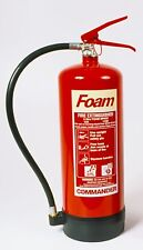 LARGE 6 LITRE FOAM FIRE EXTINGUISHER FOR INDUSTRIAL WORK USE - NEW