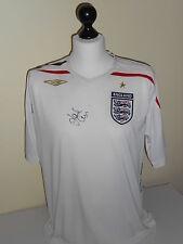 England Hand Signed Jack Cork Shirt Very Rare.