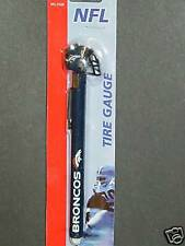 NFL Denver Broncos Tire Pressure Gauge, NEW