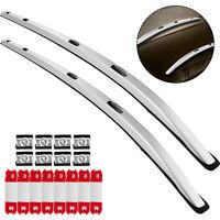 For Honda HRV HR-V 2016-2021 Roof Rack Luggage Carrier Aluminum Rail Bar Pair