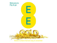 NEW EE Gold VIP PAYG SIM Card Pay As You Go Easy Memorable Mobile Number 888 777
