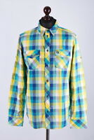 Adidas Originals Checked Long Sleeve Shirt Size M