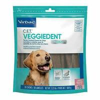 Virbac C.E.T. VeggieDent FR3SH Tartar Control Chews for Dogs - Large
