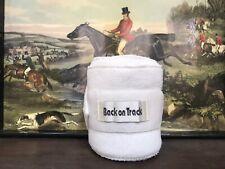 Back on Track Therapeutic Polo Leg Wrap -1 White