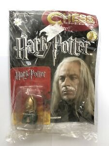 DeAgostini Harry Potter Chess Magazine Issue 69 with Glowing Black Pawn