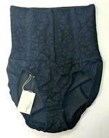 Vintage Intimo Amore Lace Panty Girdle Medium Boned Shapewear Black 80s 90s NEW