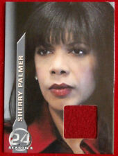 24 - Season 3 - PENNY JOHNSON JERALD - Sherry Palmer's Red Coat, COSTUME CARD M4