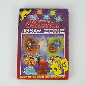 Vintage 90's Disney Classics Jigsaw Glow Zone Puzzle 60 Pieces
