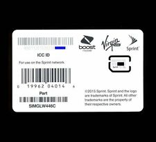 SPRINT BOOST VIRGIN MOBILE RINGPLUS NANO 4G LTE SIM FOR HTC M9 NEXUS6 SIMGLW446C
