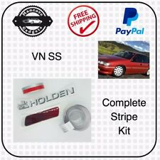 VN SS STRIPES DECAL STICKER BODY KIT HOLDEN COMMODORE SCREEN PRINTED