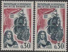 """FRANCE TIMBRE N° 1461 """" PEUPLEMENT ILE BOURBON VARIETE COULEUR """" NEUFxxTTB K127C"""