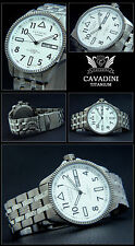 Solid Titan Aviator Men's Watch Japan Automatic Easy to Read
