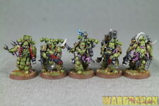 25mm Warhammer 40K Wds painted Death Guard Plague Marines s72