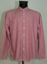 MENS Tommy Hilfiger SHIRT LONG SLEEVE COTTON SIZE M EXCL