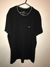 MENS ARMANI EXCHANGE BLACK T-SHIRT BNWT UK XL