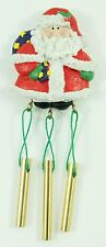 Vintage Santa Wind Chime Magnet Christmas Ornament Holiday Decoration