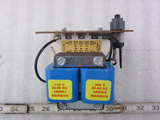 Warrick Controls Gems 1G1D0A 115/300V 1NC 2NO Control Relay w Reset, New