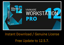 VMware Pro 12 VIRTUAL PC free upgrades INSTANT DOWNLOAD ** Worldwide **
