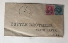1891 Cover Postmarked Faith Kentucky Tuttle Brothers North Haven CT