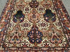 Persian Bakhtarie Oriental Rug From A Rug Dealer'S Home Very Fine Plush Wool