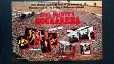 """Fleetwood Mac"""" Rockarena"""" Austrailian Fans Rare Original Print Promo Poster Ad"""