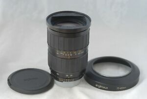 Angenieux Auto Focusing Zoom 28-70mm f2.6 Lens Nikon Mount w/Hood
