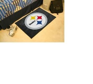 Pittsburgh Steelers Area Rug Mat Large 20 x 30 ( 2 styles to choose from )
