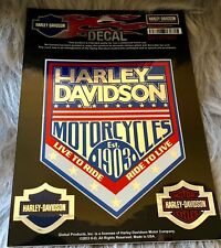 Authentic - Harley Davidson Decal - DC1277063