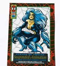 BLACK CAT Marvel 1994 Limited Edition Suspended Animation Subset Spiderman 11/12