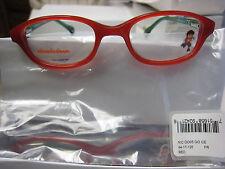 6bef0bbcc6 NICKELODEON NIC DIEGO 0005 RED 44-17-125 Eyeglass Frames New