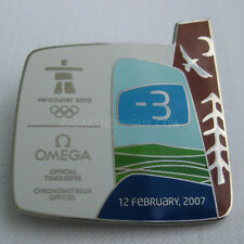 2010 Vancouver Winter Olympic Omega 3 Years To Go Dated Pin