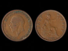 George V Half Penny Coin 1935.