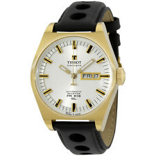 Tissot PR 516 Mens Gold PVD Automatic Heritage Watch - T0714303603100