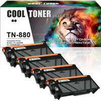 2PK for Brother TN880 TN-880 Toner Cartridge DCP-L6600DW HL-L6200DW MFC-L6700DW