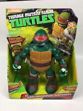 """NEW Teenage Mutant Ninja Turtles 11"""" Head Droppin' Raphael Action Figure TMNT"""