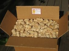 10 KG B-Ware  Anzünder aus Holzwolle und Wachs Ofenanzünder Kaminanzünder