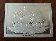 Franklin Mint Great Sailing Ships of History Sterling Ingot Golden Hind