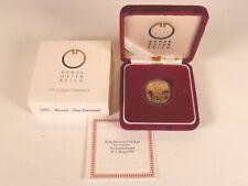 GOLDMÜNZE MOZART DON GIOVANNI 1991 500 SCHILLING, 986/1000 FEINGEHALT