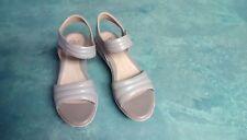 Clarks Hazella Alba Sage Leather Sandals Woman's 8 M