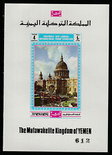 Yemen (213) 1970 Philympia - St Pauls Cathedral deluxe sheet unmounted mint